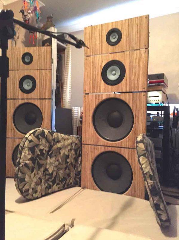 Open Baffle Speakers (again!) - DIY - HiFi WigWam