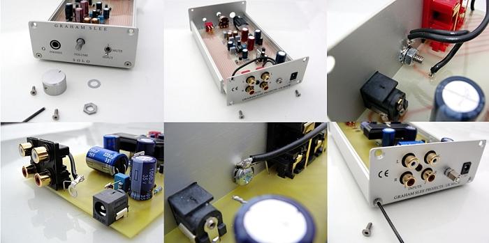 DIY Solo ULDE Headphone Amplifier Upgrade