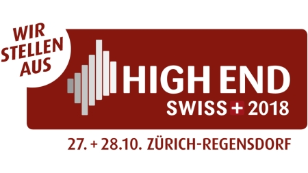 Hear our Phono Stages at High-End Switzerland