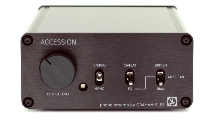 Accession phono preamp available in black